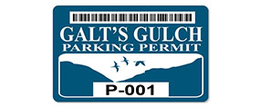 Galt's Gulch Parking Permit