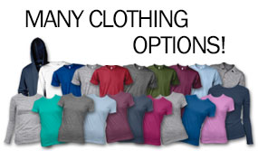 Many Clothing Options!