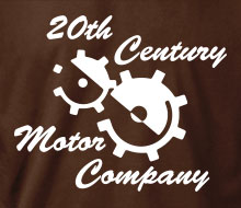 20th Century Motor Company (Gears) - Long Sleeve Tee