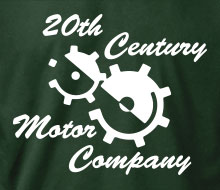20th Century Motor Company (Gears) - Ladies' Tee