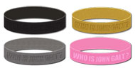 Who is John Galt? Silicone Bracelet