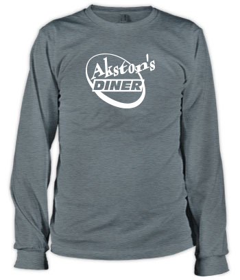Akston's Diner (Round) - Long Sleeve Tee