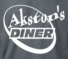 Akston's Diner (Round) - T-Shirt