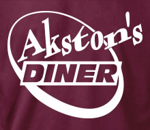 Akston's Diner (Round) - Ladies' Tee