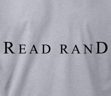 Read Rand - Crewneck Sweatshirt
