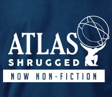 Atlas Shrugged (Globe, Now Non-Fiction) - Long Sleeve Tee