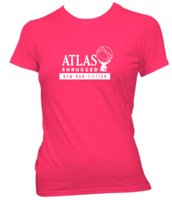 Atlas Shrugged (Globe, Now Non-Fiction) - Ladies' Tee