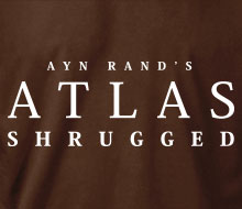 Ayn Rand's Atlas Shrugged - Hoodie