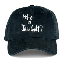 "Official ""Who Is John Galt?"" Cap"