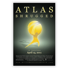 "Atlas Shrugged Part I Movie Poster: ""In the Shadows"""