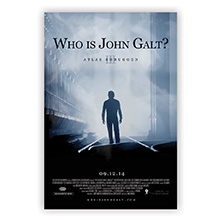 "Atlas Shrugged Part 3 Movie Poster: ""I am John Galt"""