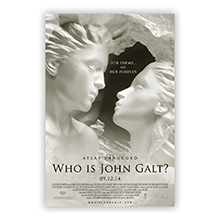 "Atlas Shrugged Part III Movie Poster: ""Heroic Love"""