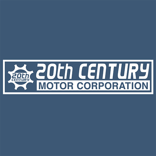 Official 20th Century Motor T-Shirt