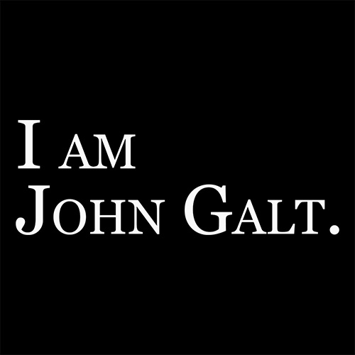"Official ""I Am John Galt"" T-Shirt"