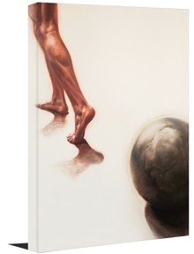 "Atlas Shrugged (16""x20"" or 24""x30"" Gallery Wrapped Canvas Painting) - SPECIAL ORDER (Ships in 7-10 days)"