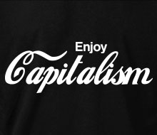 Enjoy Capitalism - Long Sleeve Tee
