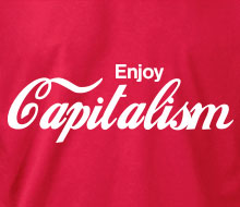 Enjoy Capitalism - Crewneck Sweatshirt