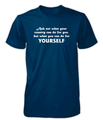 Do For YOURSELF (Text Only) - T-Shirt