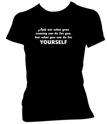 Do For YOURSELF (Text Only) - Ladies' Tee