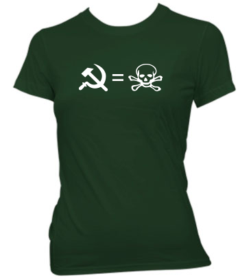 Communism is Death - Ladies' Tee