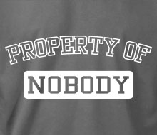 Property of Nobody - Long Sleeve Tee