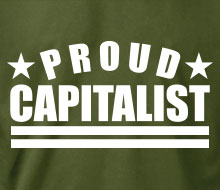 Proud Capitalist - T-Shirt