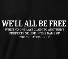 We'll All Be Free� - Crewneck Sweatshirt