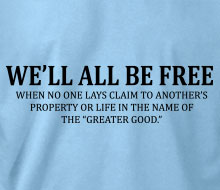 We'll All Be Free� - Ladies' Tee