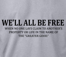 We'll All Be Free� - Long Sleeve Tee