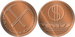 d'Anconica Copper 1oz Copper Medallion