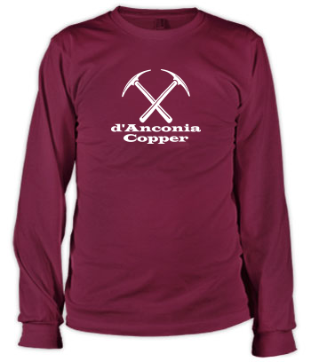 d'Anconia Copper - Long Sleeve Tee