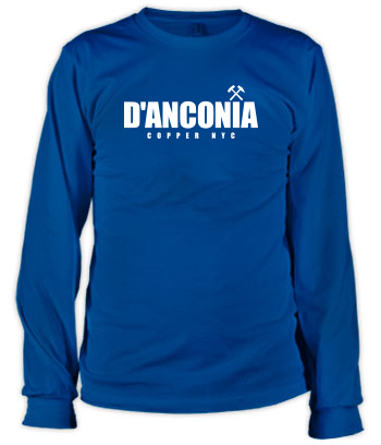 d'Anconia Copper (Simple Logo) - Long Sleeve Tee