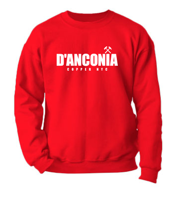 d'Anconia Copper (Simple Logo) - Crewneck Sweatshirt