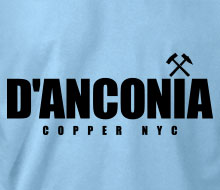 d'Anconia Copper (Simple Logo) - Ladies' Tee