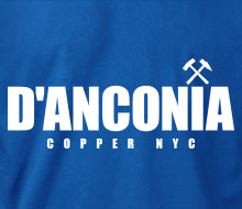 d'Anconia Copper (Simple Logo) - Men's Polo Shirt
