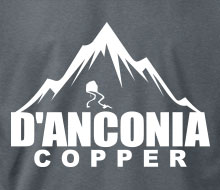 d'Anconia Copper (Mountain) - T-Shirt
