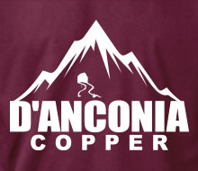 d'Anconia Copper  (Mountain) - Men's Polo Shirt