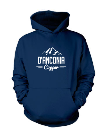 d'Anconia Copper (Mountain Range) - Hoodie