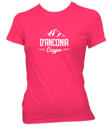 d'Anconia Copper (Mountain Range) - Ladies' Tee