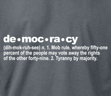 The Definition of Democracy - Hoodie
