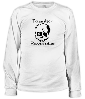 Danneskjöld Repossessions (Skull) - Long Sleeve Tee