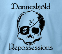 Danneskjöld Repossessions (Skull) - Ladies' Tee
