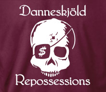 Danneskj�ld Repossessions (Skull) - Long Sleeve Tee