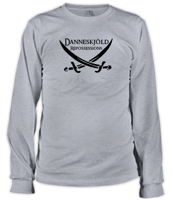 Danneskjöld Repossessions (Swords) - Long Sleeve Tee