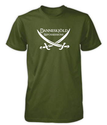 Danneskjöld Repossessions (Swords) - T-Shirt