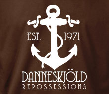 Danneskjöld Repossessions (Anchor) - T-Shirt