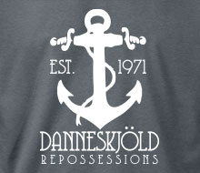 Danneskjöld Repossessions (Anchor) - Ladies' Tee