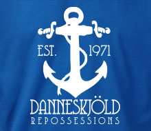 Danneskj�ld Repossessions (Anchor) - T-Shirt