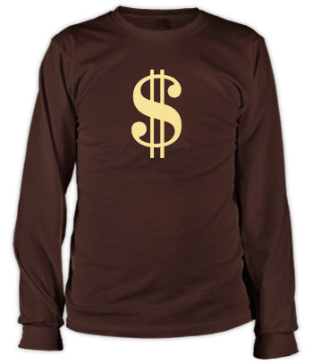 Sign of the Dollar - Long Sleeve Tee