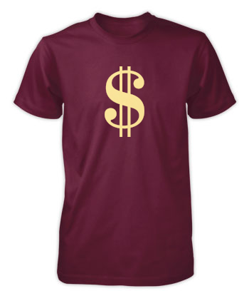 Sign of the Dollar - T-Shirt